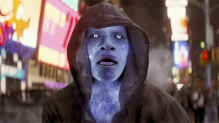 Jamie Foxx as Maxwell Dillon in The Amazing Spider-Man 2