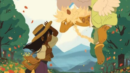 Artwork from The Tea Dragon Society