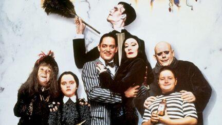 adams family poster