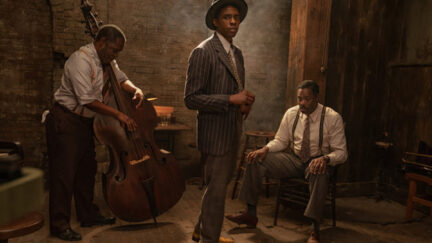 Chadwick Boseman stars in Ma Rainey's Black Bottom