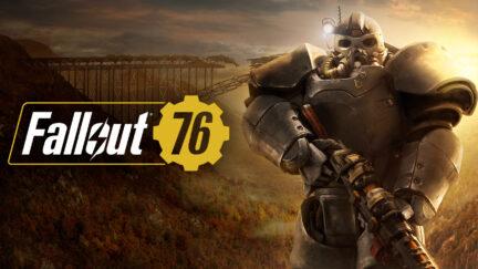 Fallout 76 title image.