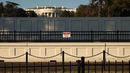 white house wall