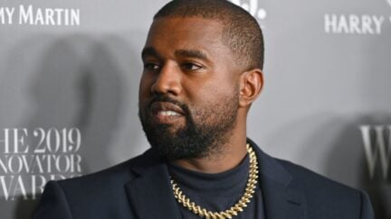 US rapper Kanye West attends the WSJ Magazine 2019 Innovator Awards at MOMA on November 6, 2019 in New York City. (Photo by Angela Weiss / AFP) (Photo by ANGELA WEISS/AFP via Getty Images)