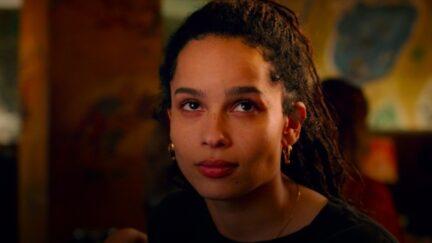 Zoe Kravitz rolls her eyes at mansplaining in Hulu's High Fidelity