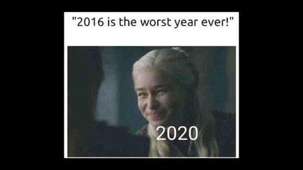 2020 worst year meme