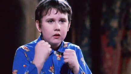 Screencap of Neville Longbottom in Harry Potter And The Sorceror's Stone