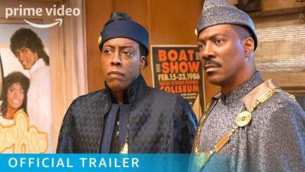 Coming 2 America trailer still.
