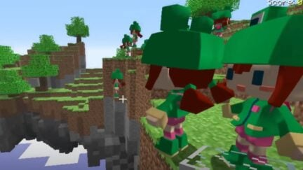 Minecraft video on history of glitches