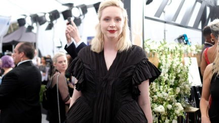 LOS ANGELES, CALIFORNIA - JANUARY 19: Gwendoline Christie attends the 26th Annual Screen ActorsGuild Awards at The Shrine Auditorium on January 19, 2020 in Los Angeles, California. 721407 (Photo by Dimitrios Kambouris/Getty Images for Turner)