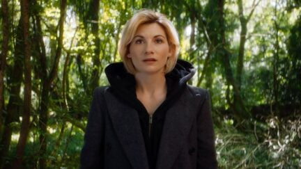 Doctor Who reveal of Jodie Whittaker as the 13th Doctor.