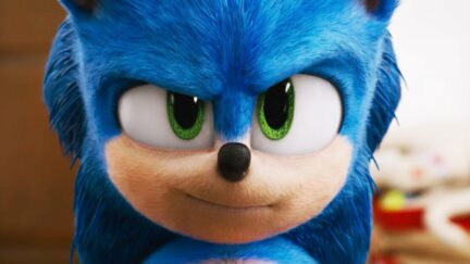Screenshot from the Sonic the Hedgehog 2020 film
