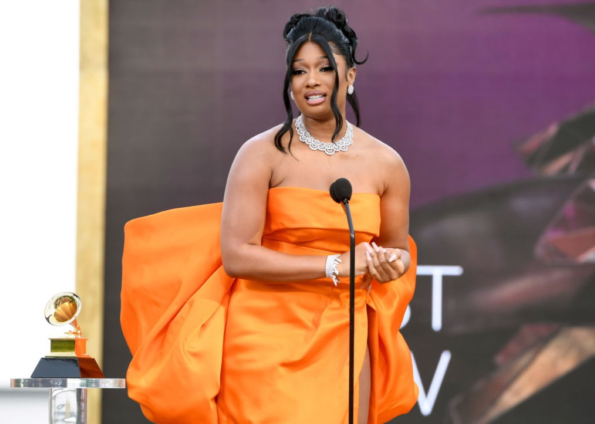 Anime Fangirl Megan Thee Stallion Won Big at the Grammys
