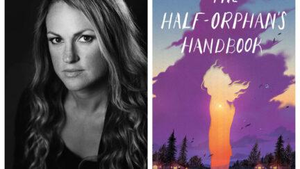 Joan F. Smith and her debut novel, The Half-Orphan's Handbook