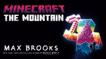 Book cover for Minecraft: The Mountain by Max Brooks