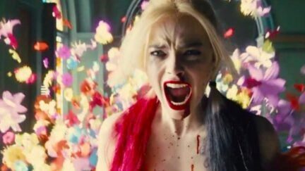 the suicide squad trailer is here hey look harley