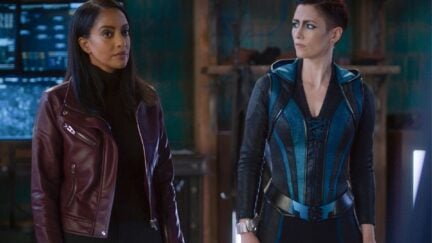Kelly and Alex on Supergirl as Dansen.
