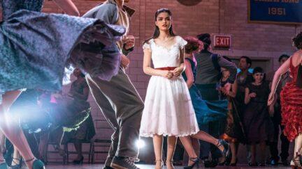 West Side Story's Rachel Zegler as Maria.