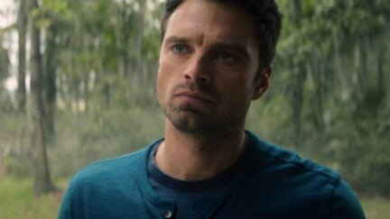Sebastian Stan stars as Bucky Barnes in The Falcon and the Winter Soldier