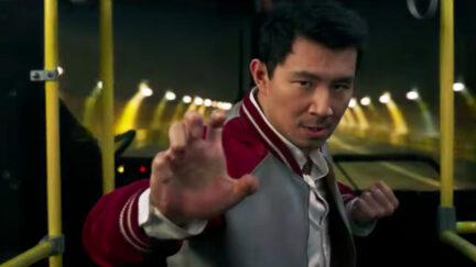 Simu Liu in Shang-Chi