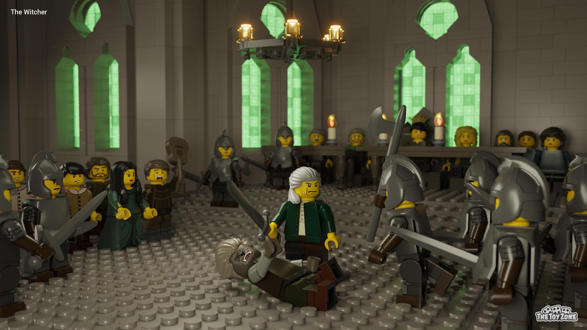 8 Original Netflix Series Turned Into Incredible Lego Scenes