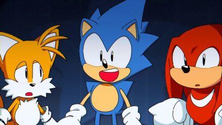 Sonic Mania opening