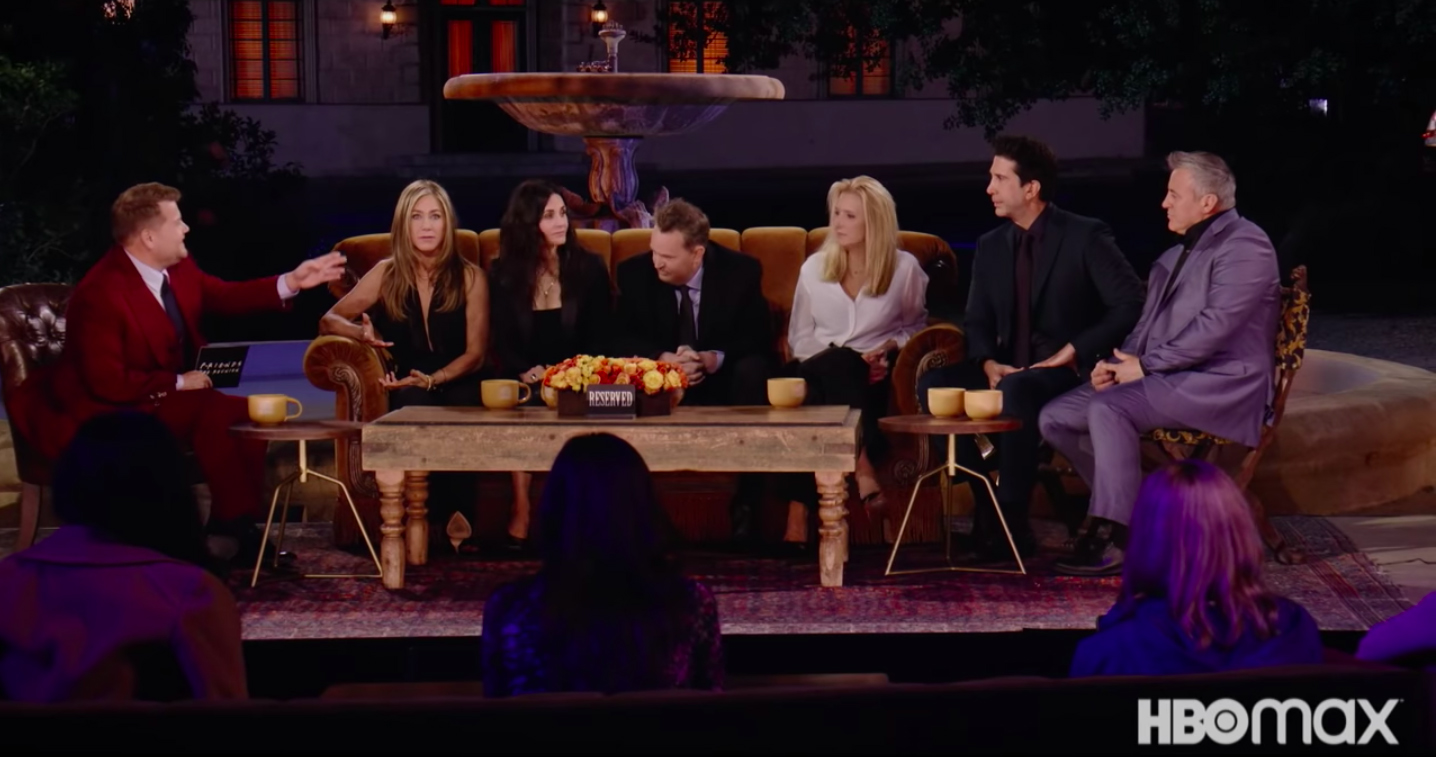 HBO Max Friends Reunion Exists, Has a Trailer