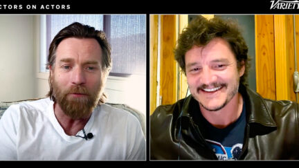 Pedro Pascal and Ewan McGregor interviewing each other