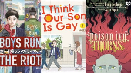 Collage of Queer Books