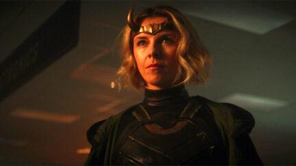 Lady Loki variant of Loki (or maybe not?) on Marvel and Disney+'s Loki.