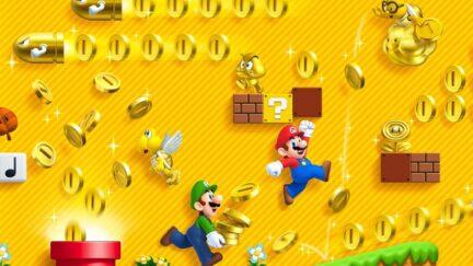 Promo image of New Super Mario Bros 2