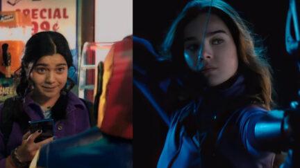 Ms. Marvel and Hawkeye