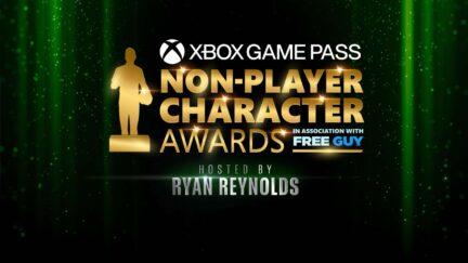 NPC awards splash screen.