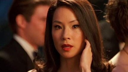 Lucy Liu in Charlie's Angels.