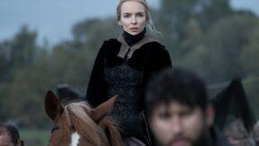 the-last-duel-jodie-comer-marguerite-de-carrouges on a horse