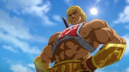 Chris Wood as He-Man/Prince Adam in Masters of the Universe: Revelation (2021)