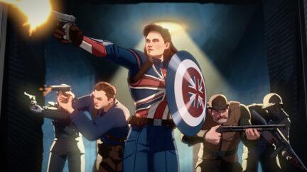 First Avenger Captain Carter