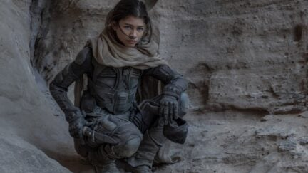 Zendaya as Chani in the upcoming Dune Part One