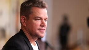 Matt Damon Stillwater premiere