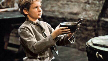 Mark Lester as Oliver Twist