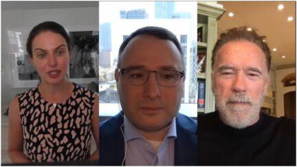 Bianna Golodryga, Alexander Vindman, and Arnold Schwarzenegger