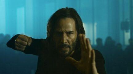 Neo in the Matrix 4