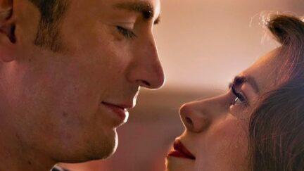 Steve and Peggy dance in Marvel's Avengers: Endgame.