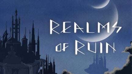 Banner for now cancelled Realms of Ruin NFT debacle. (Image: Julie Zhuo.) https://joulee.medium.com/realms-of-ruin-web3-storytelling-339da44a65c0