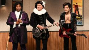 Daniel Craig crashing Rami Malek's Saturday Night Live