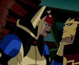 Big Barda and Mister Miracle