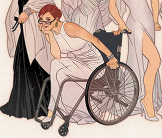 A Lesson In Illustrating Wheelchairs From Someone Who Uses One