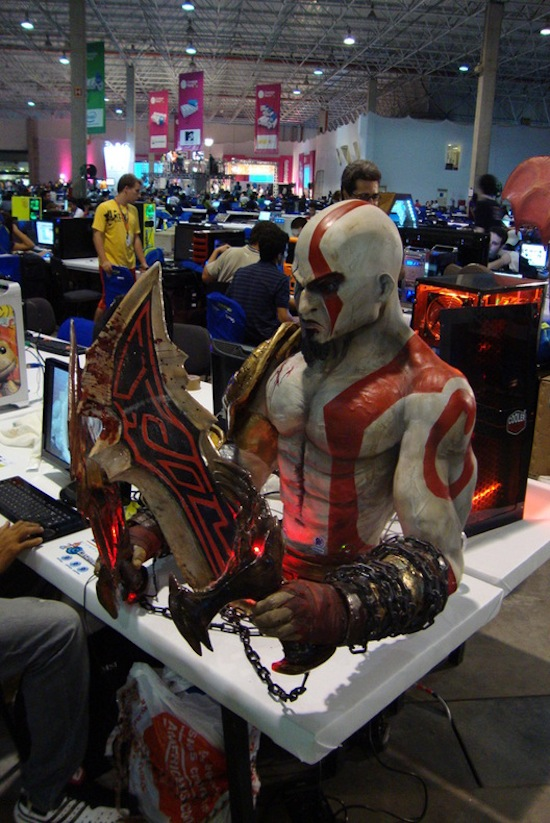 Terrifying Kratos PC