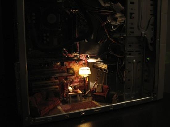 Tiny Livingroom PC