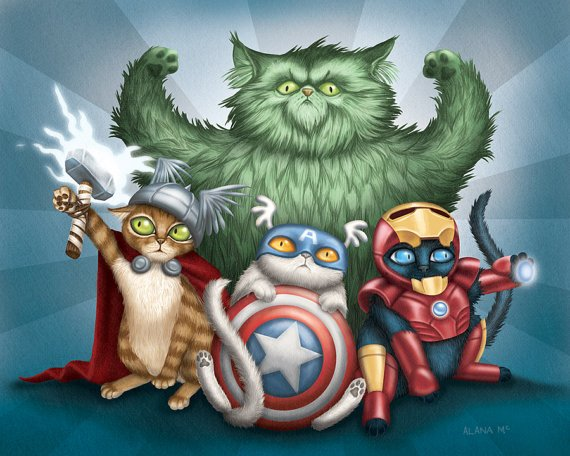 The Cat Avengers
