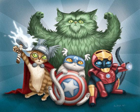 The Cat Avengers